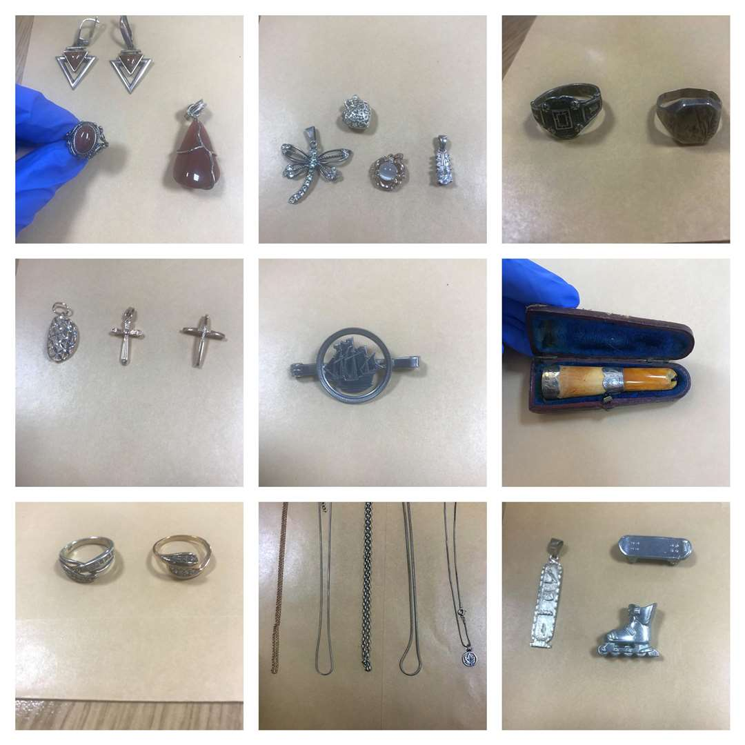 Police believe these items are stolen and want to reunite them with the proper owners. (6155801)