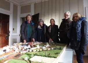 A model of Georgian Wisbech is currently on view at Peckover House