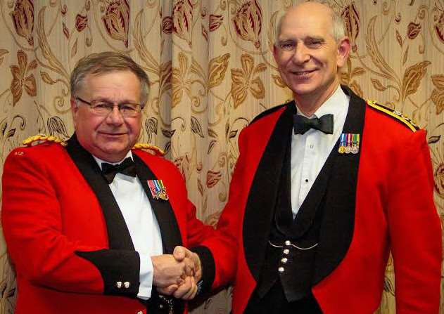 Lieutentant Colonel Mark Knight MBE as Commandant wef 31st January 2016, succeeding Col Steve Martin upon his retirement.
