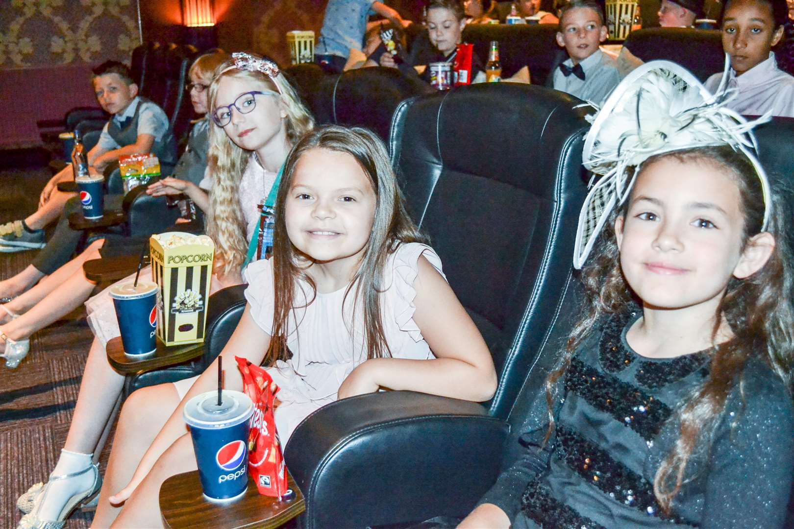 Children from Tydd St Mary school worked with Big Sky Arts to create a short film, which they then watched at a 'red carpet' premiere at the Luxe Cinema in Wisbech. (3297403)