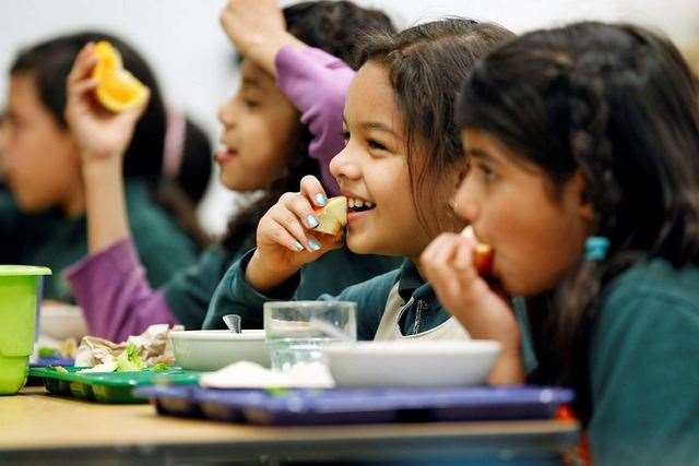 Children who are entitled to free school meals will receive vouchers this half term. Stock image.