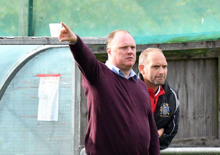 Wisbech Town Football v St Andrews'New Manager Gary Setchell
