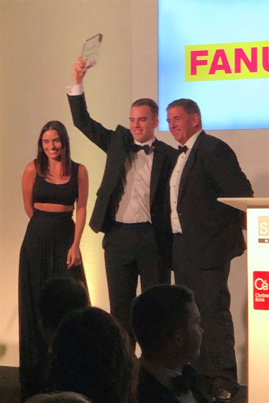 Daniel Lynch was named Apprentice of the Year. (5889466)