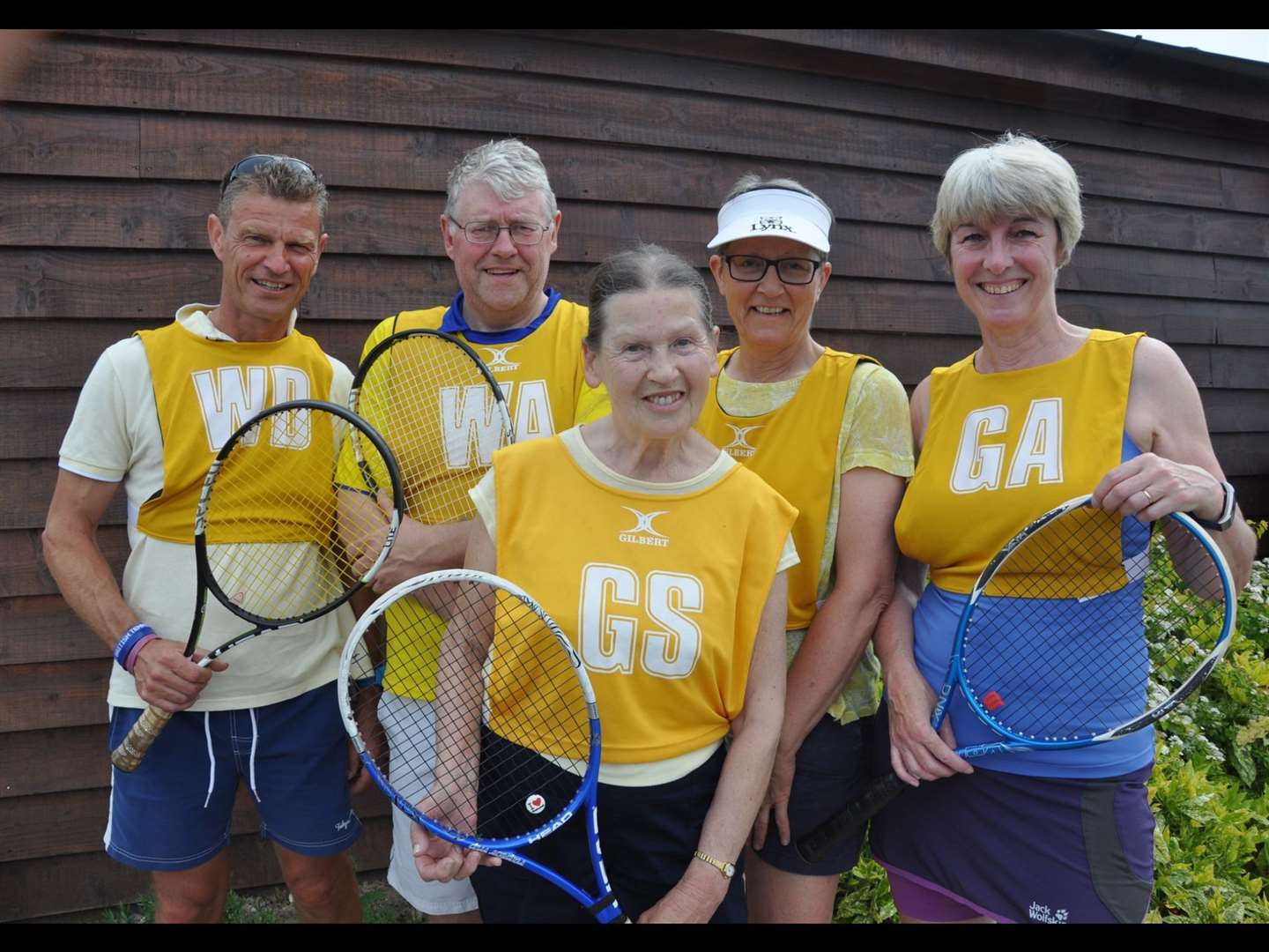 Wisbech tennis Yellow Squad (11662006)