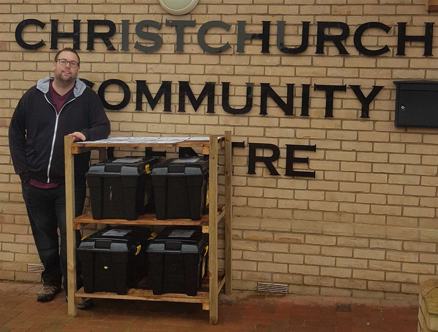 Nate Landsell has built four specialist recycling hubs to help Christchurch villagers be more environmentally friendly. (26917038)