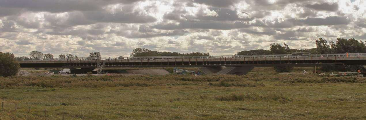 View of the Ely Southern Bypass. (4743771)