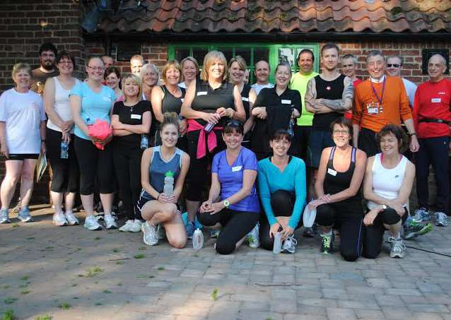 Fenland Running Club members