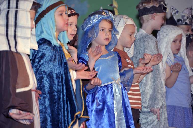 Thomas Eaton Primary School, Wimblington. Christmas play dress rehearsal.'''Contact 01354 740392 ANL-140812-141258009