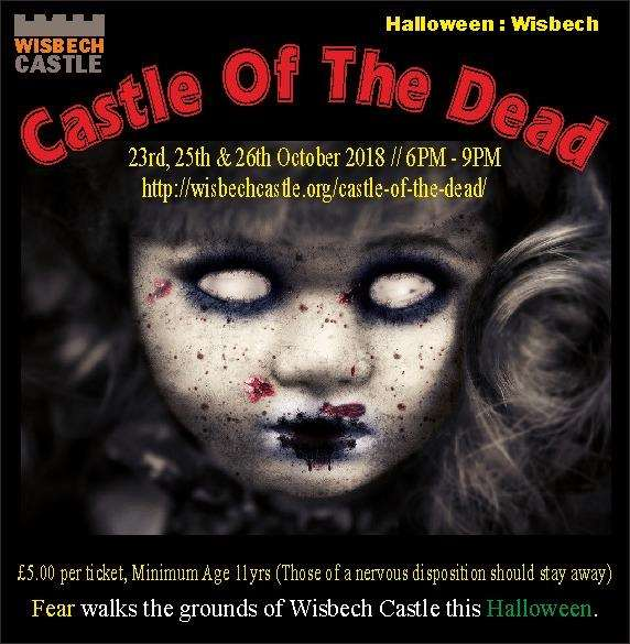 Tickets are on sale now for Castle of the Dead. (4604115)