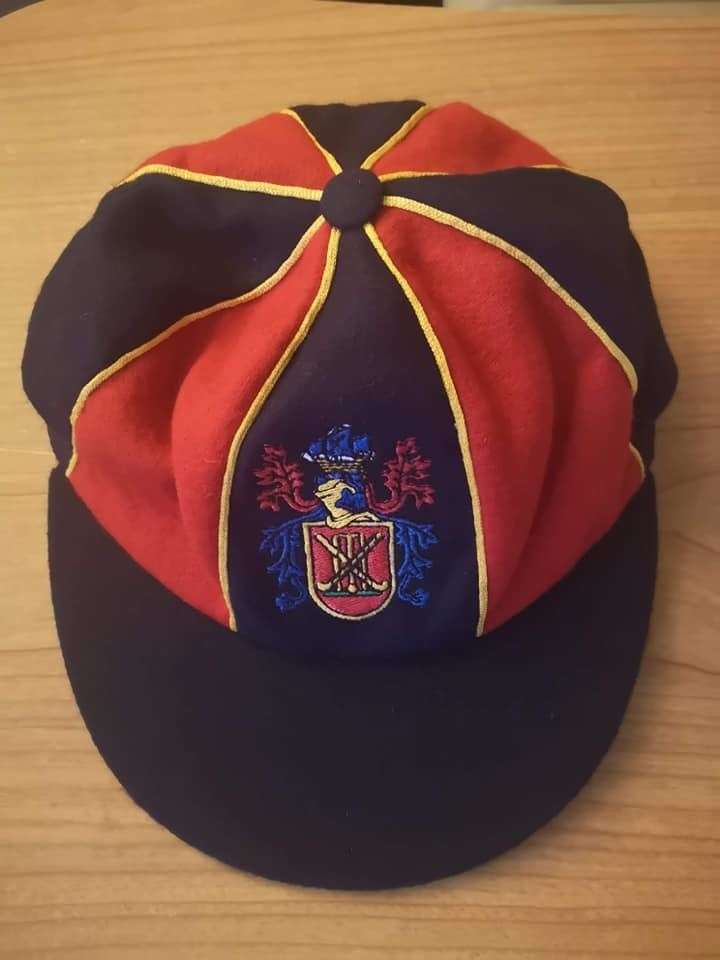 The Paul Strickle Memorial Cap.Specially crafted by Gentlemen & Players. Photo: Wisbech Town Cricket Club. (11813714)