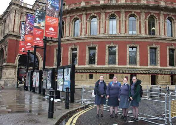 Girls Venture Corps Air Cadets in London