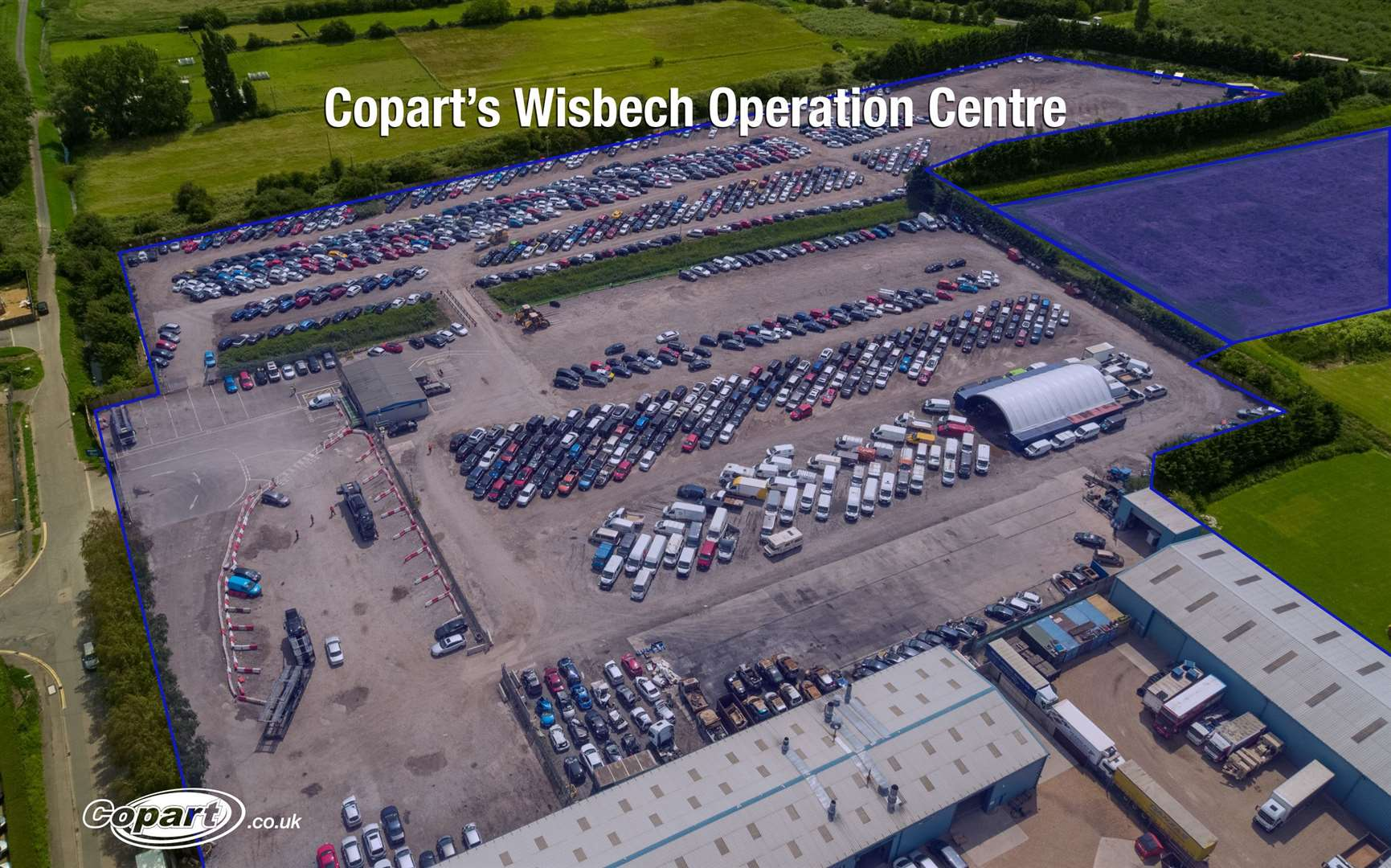 Copart UK to expand Wisbech site to meet growing customer demand. (44143289)