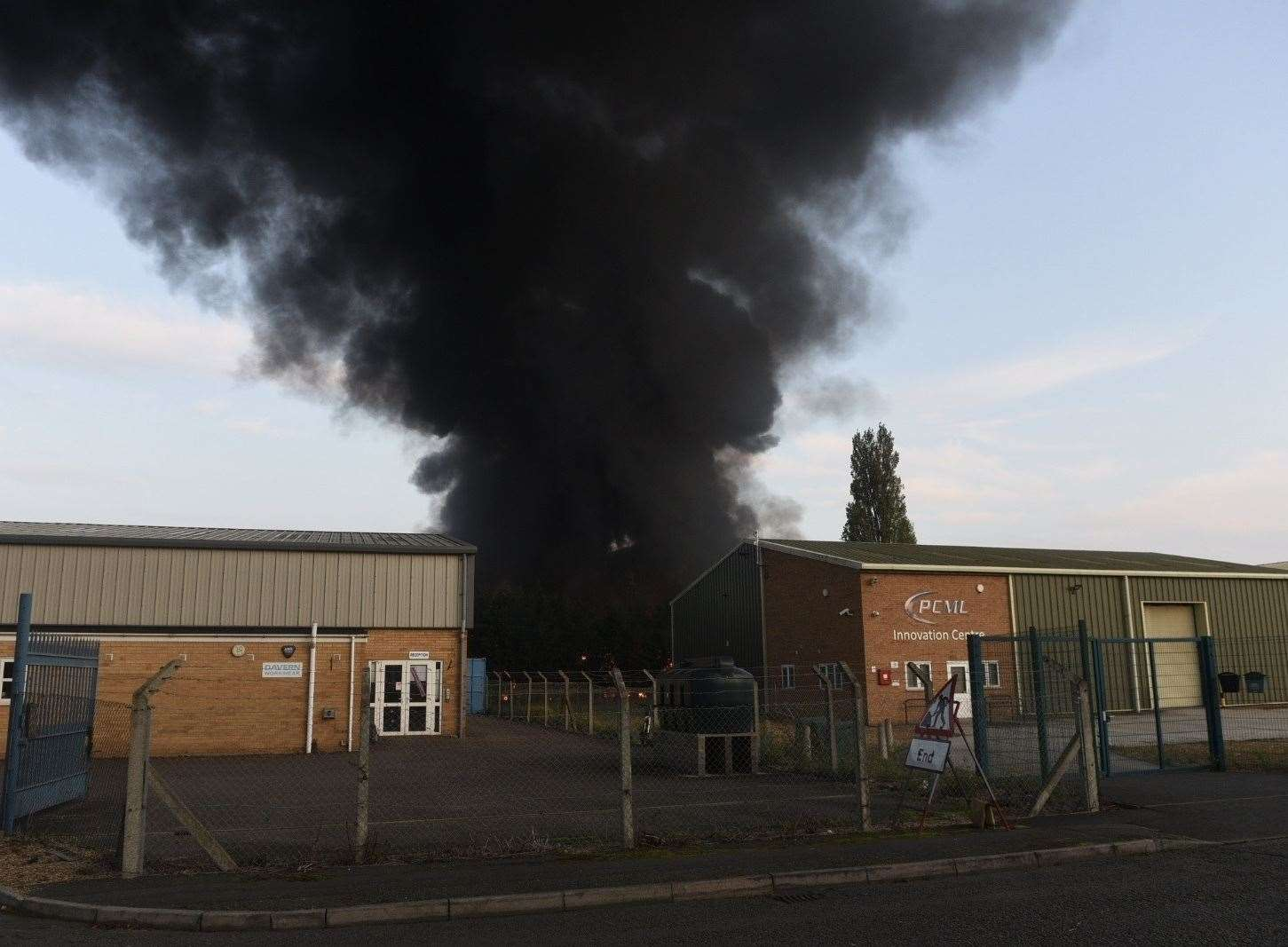 Workshop fire at Longhill Road March (20589448)