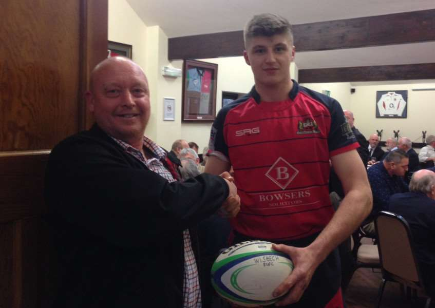 Wisbech 57 Norwich Crusaders 5'Wisbech first team dished up a festive treat on Saturday in their last home'fixture of 2015 with a 9 try mauling of Norwich Crusaders. 'The match day ball was sponsored by SBN CIVILS. The club would like to thank Shane Newman of SNB