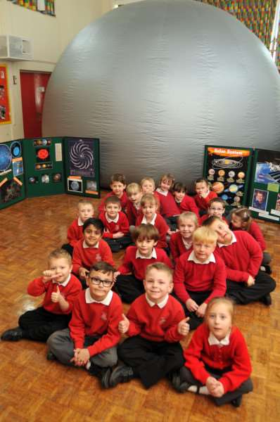Swallows class after vsit to planetarium