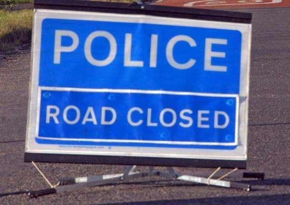 Police - Road Closed. (2845876)