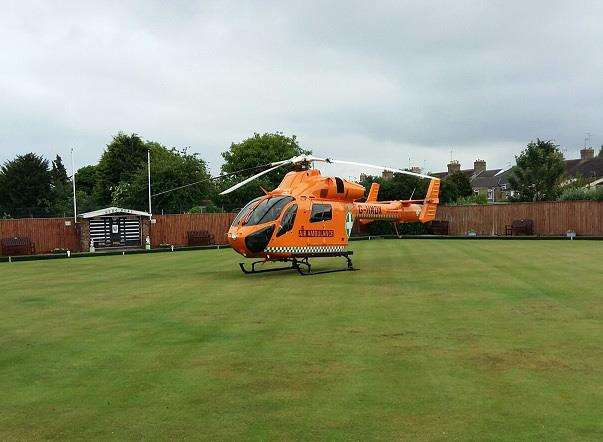 Magpas rely on donations to keep their helicopter flying to incidents like Malcolm's. (2449899)