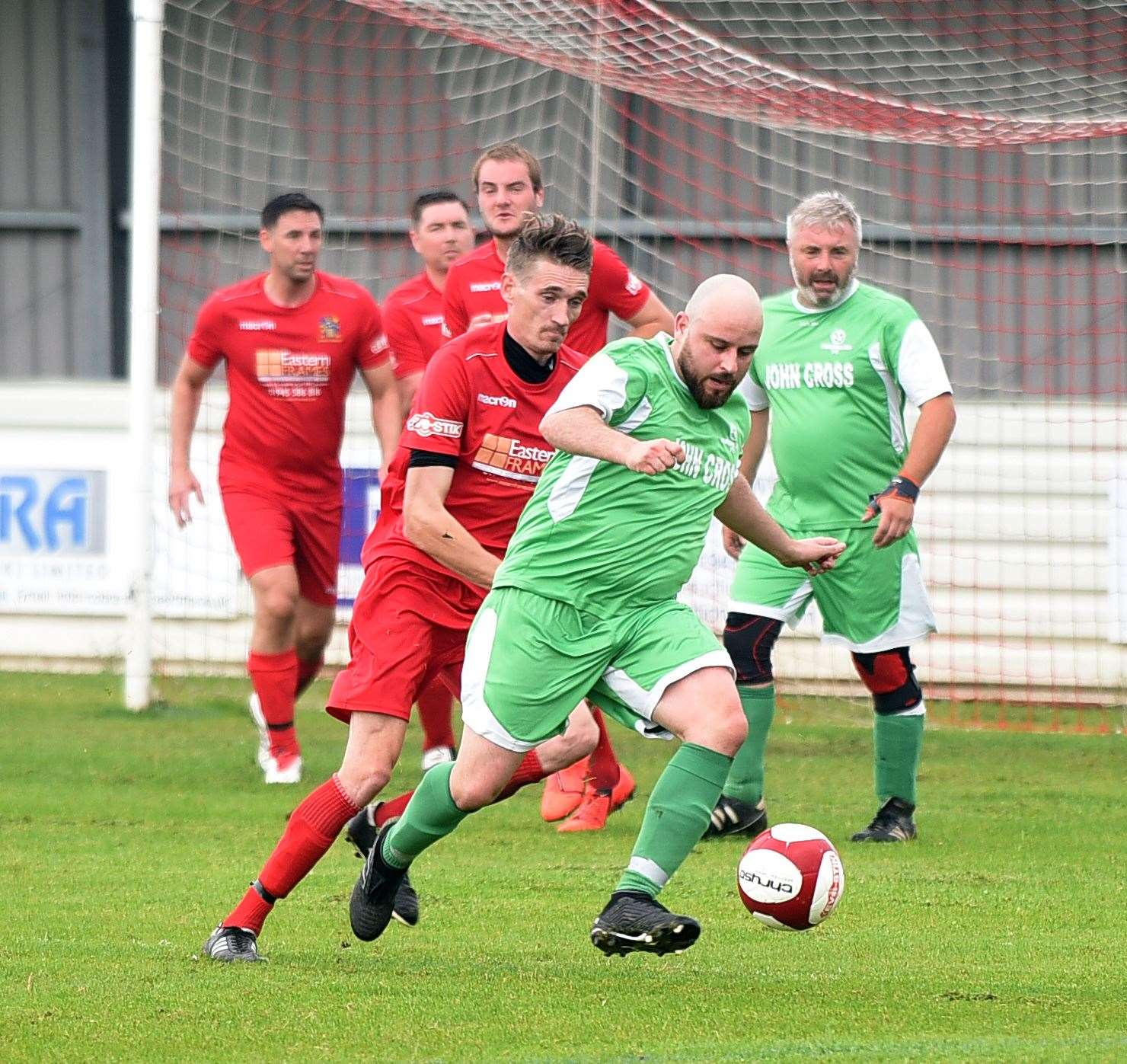 Wisbech Town Legends v Ovendale FC in memory of..Mark Ovendale ex Wisbech Town player and Luton Town FC. (10669375)