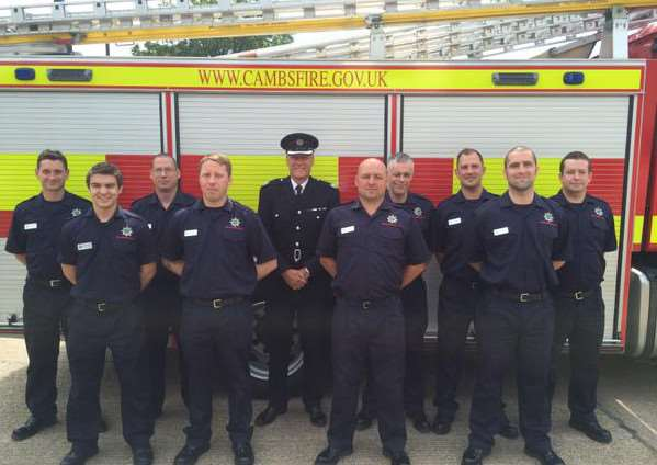 Cambridgeshire's new on-call firefighters