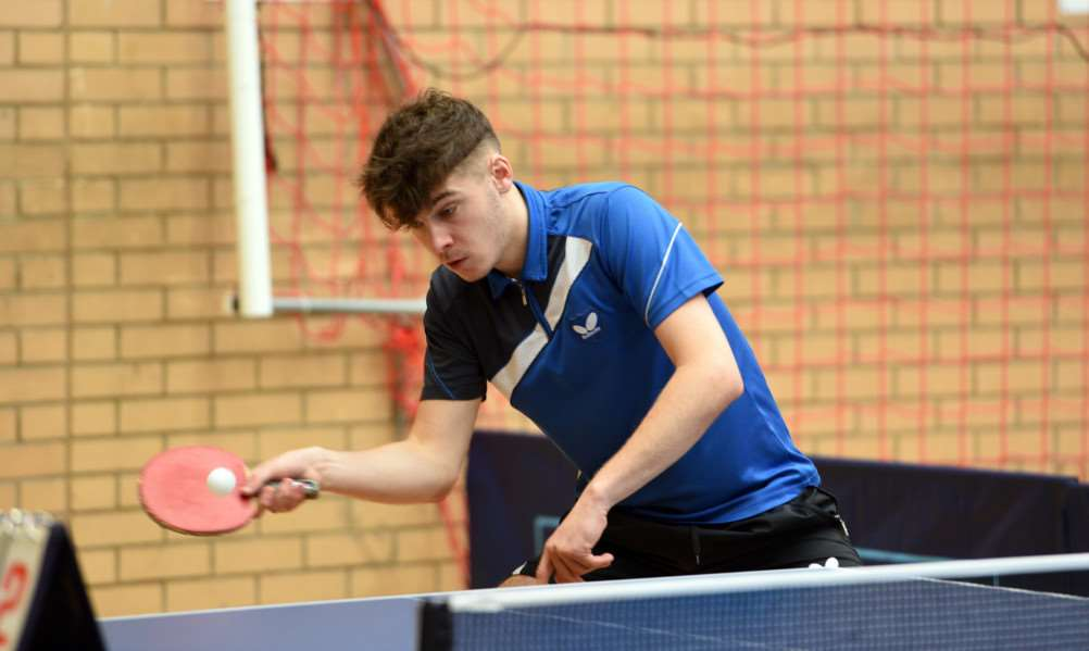 Kings Lynn table tennis championship at Lynnsport'Craig Pack