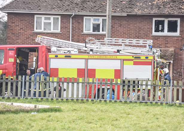 Fire in Wisbech ANL-161203-143100001