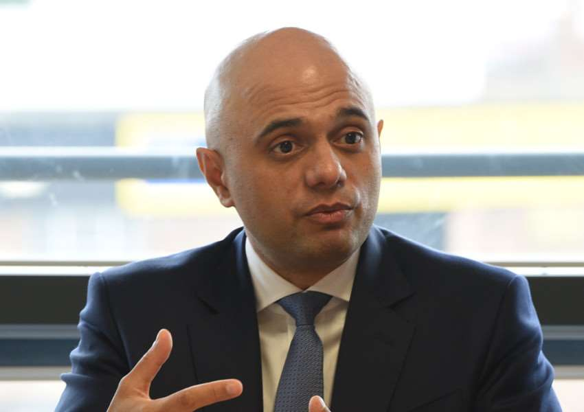 Sajid Javid Secretary of State for Communities and Local Government at Wisbech Boathouse