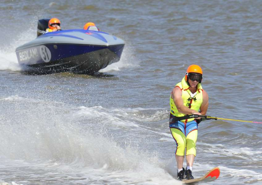 Ski Racing event King's Lynn South Quay, action begins ANL-150824-085941009
