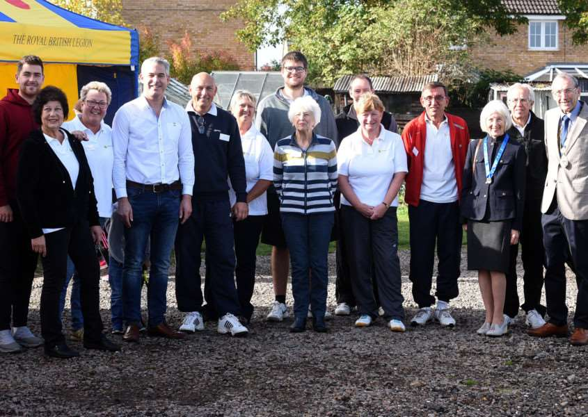 Chatteris Tennis Club hosting former Davis Cup player Danny Sapsford'Steve Barclay MP in attendance
