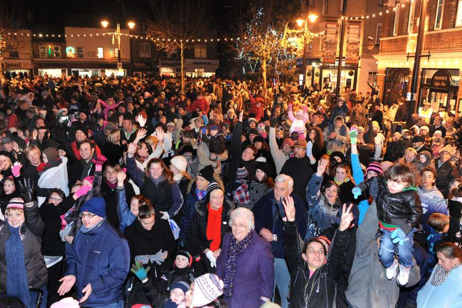 March Christmas lights switch-on takes place this Friday - organisers are hoping to see big crowds like there's been in previous years.