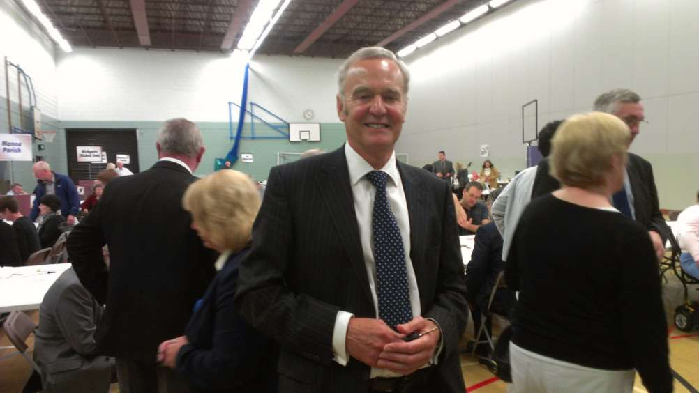 John Clark is delighted with the Conservative success on Fenland District Council