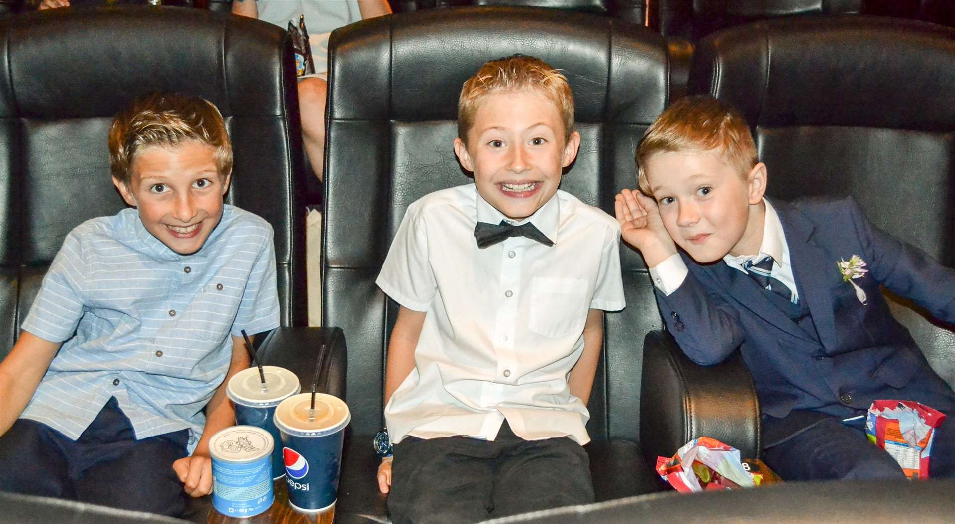 Children from Tydd St Mary school worked with Big Sky Arts to create a short film, which they then watched at a 'red carpet' premiere at the Luxe Cinema in Wisbech. (3297405)
