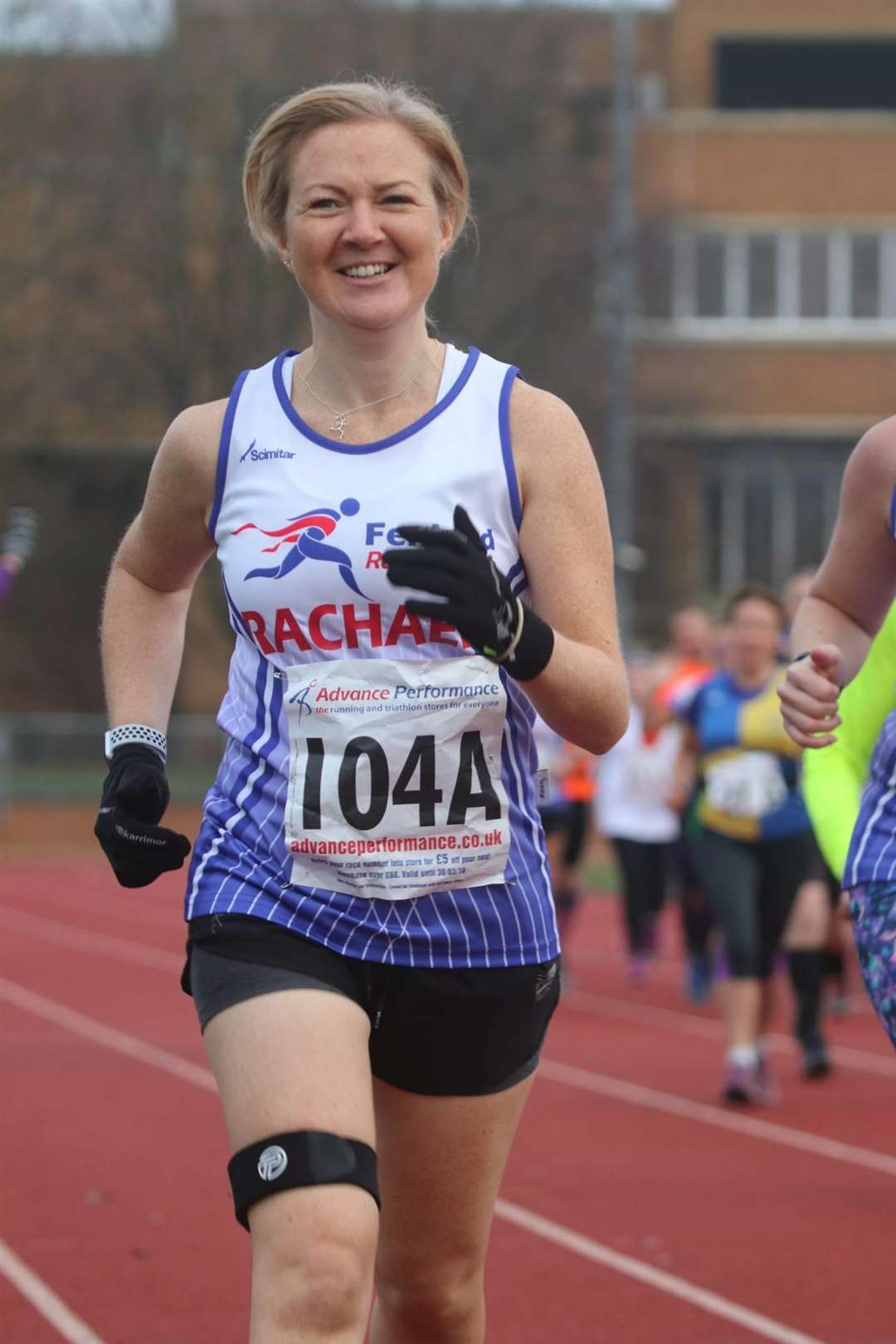FRC Hereward relay Rachael Nichols. (5761586)