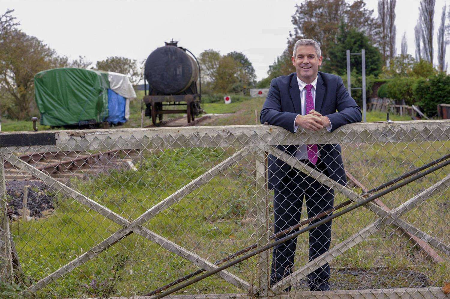 MP Steve Barclay has been a strong campaigner for the reopening of the Wisbech rail link. (5576832)