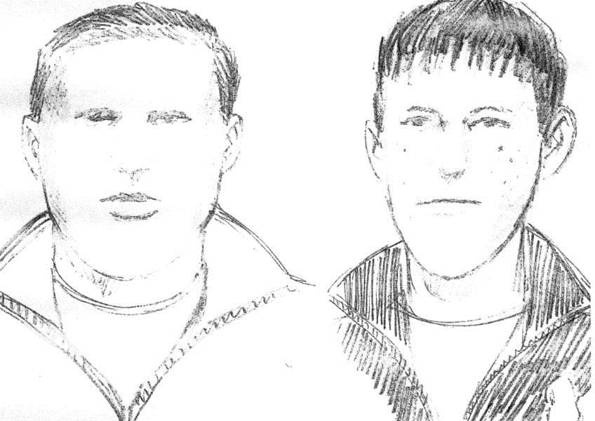 Artist impressions of two boys police would like to speak to in connection with the Rikki Neave investigation