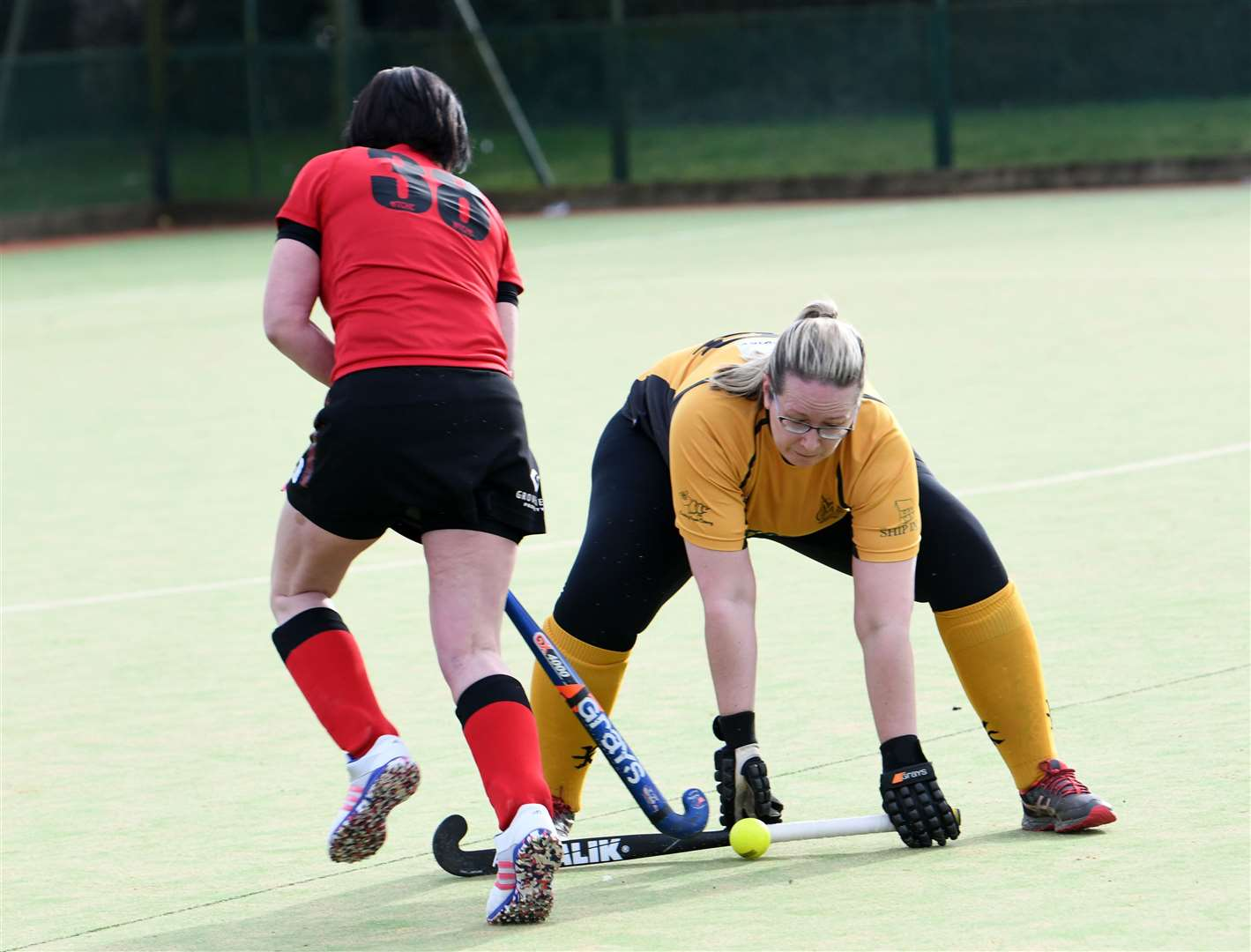 Wisbech Ladies 2nds v March 1st Hockey. (28777826)