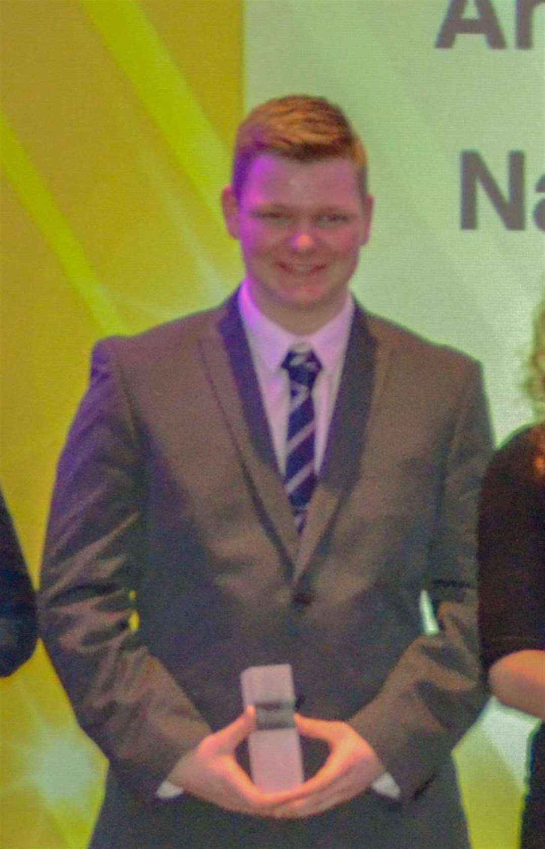 Nathan Cope won a national apprenticeship award. (5575133)