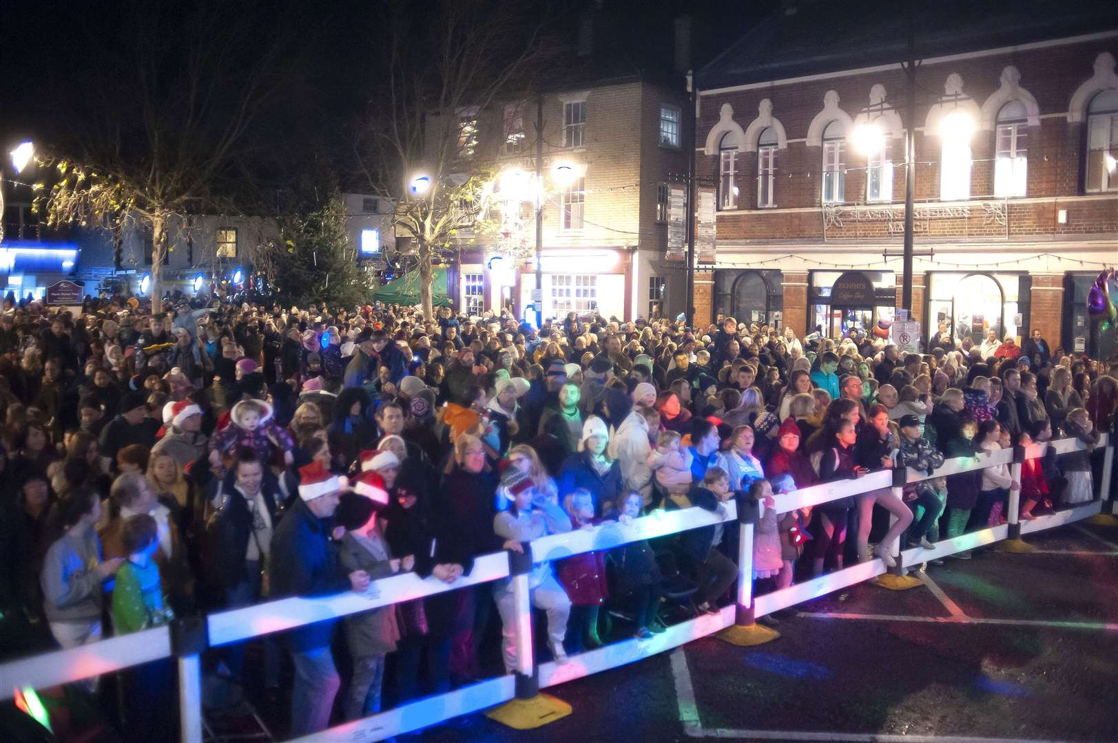 March Town Annual Christmas Lights Switch on. (22957088)