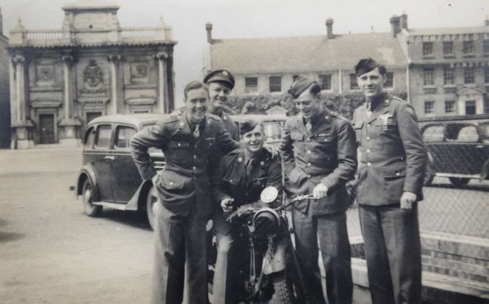 Wallace Durwood Moody (far left in picture), which was taken in Tuesday Market Place KL April 30th 1944 ANL-150811-085845009