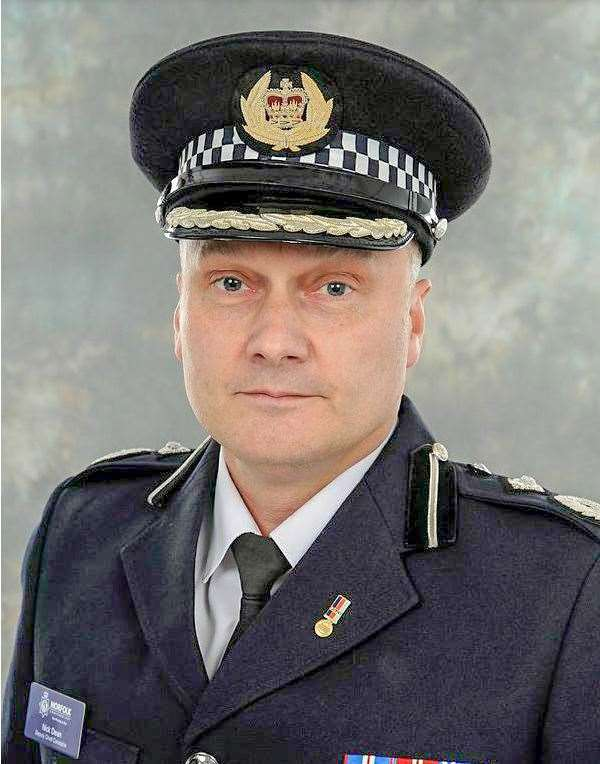 Cambridgeshire's Chief Constable Nick Dean.