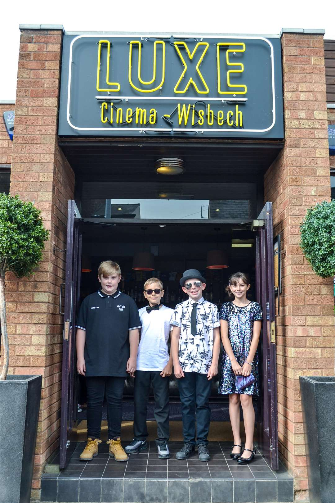 Children from Tydd St Mary school worked with Big Sky Arts to create a short film, which they then watched at a 'red carpet' premiere at the Luxe Cinema in Wisbech. (3297389)