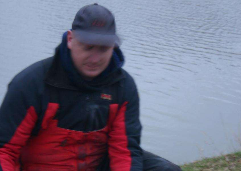 John Whincup, winner of the Barry Mason winter series at Decoy Lakes, Coates.