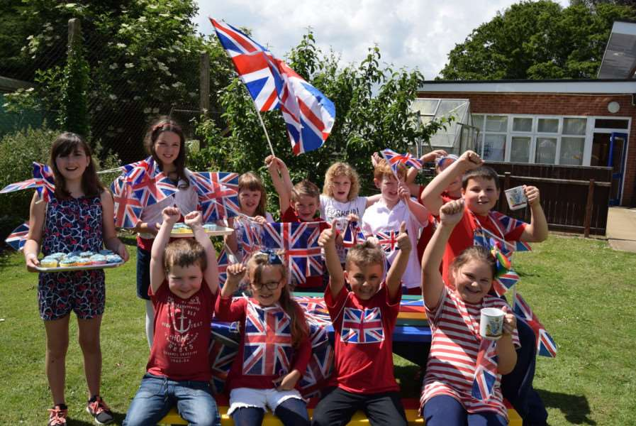 Tydd St Mary Primary School Saphire Jubilee celebrations
