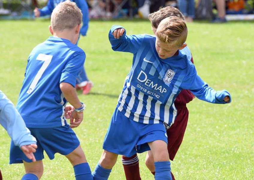 Wisbech St Mary Football Tournament'March Soccer under 7's v Bourne