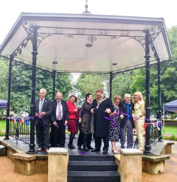 Wisbech bandstand is re-open for music after a �62,000 refurbishment.