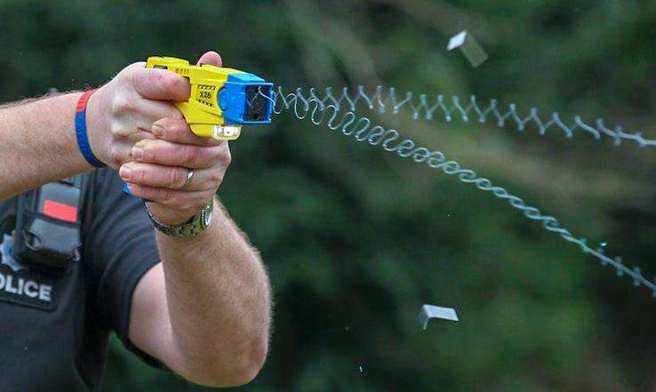 Use of Tasers is up 60 per cent in Cambridgeshire. (6156105)