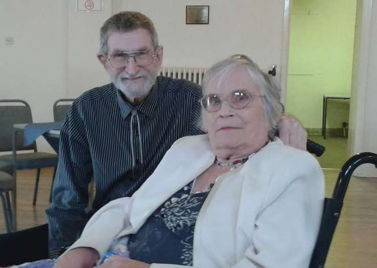 Doreen and Barrie Smallman have celebrated their diamond wedding annviersary