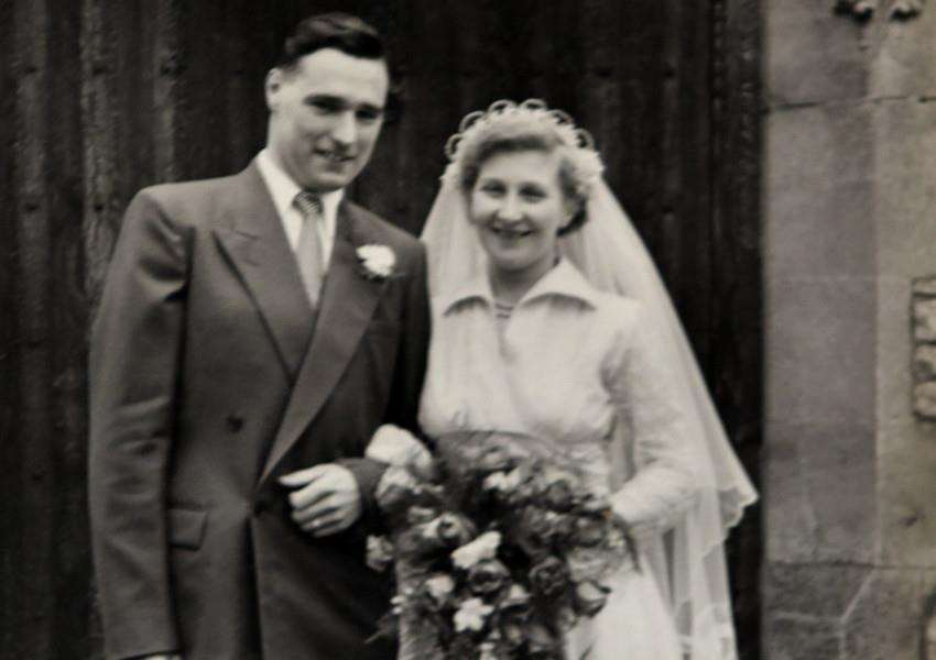 Copy pic of Dennis and Pamela Watson who are celebrating their 60th wedding anniversary ANL-160203-145159009
