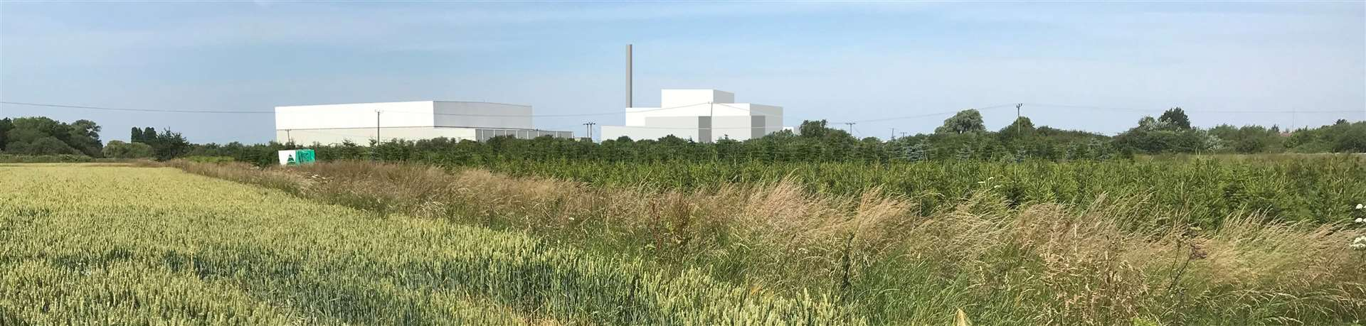 What MVV Environmental's incinerator will look like from Halfpenny Lane. (28234886)