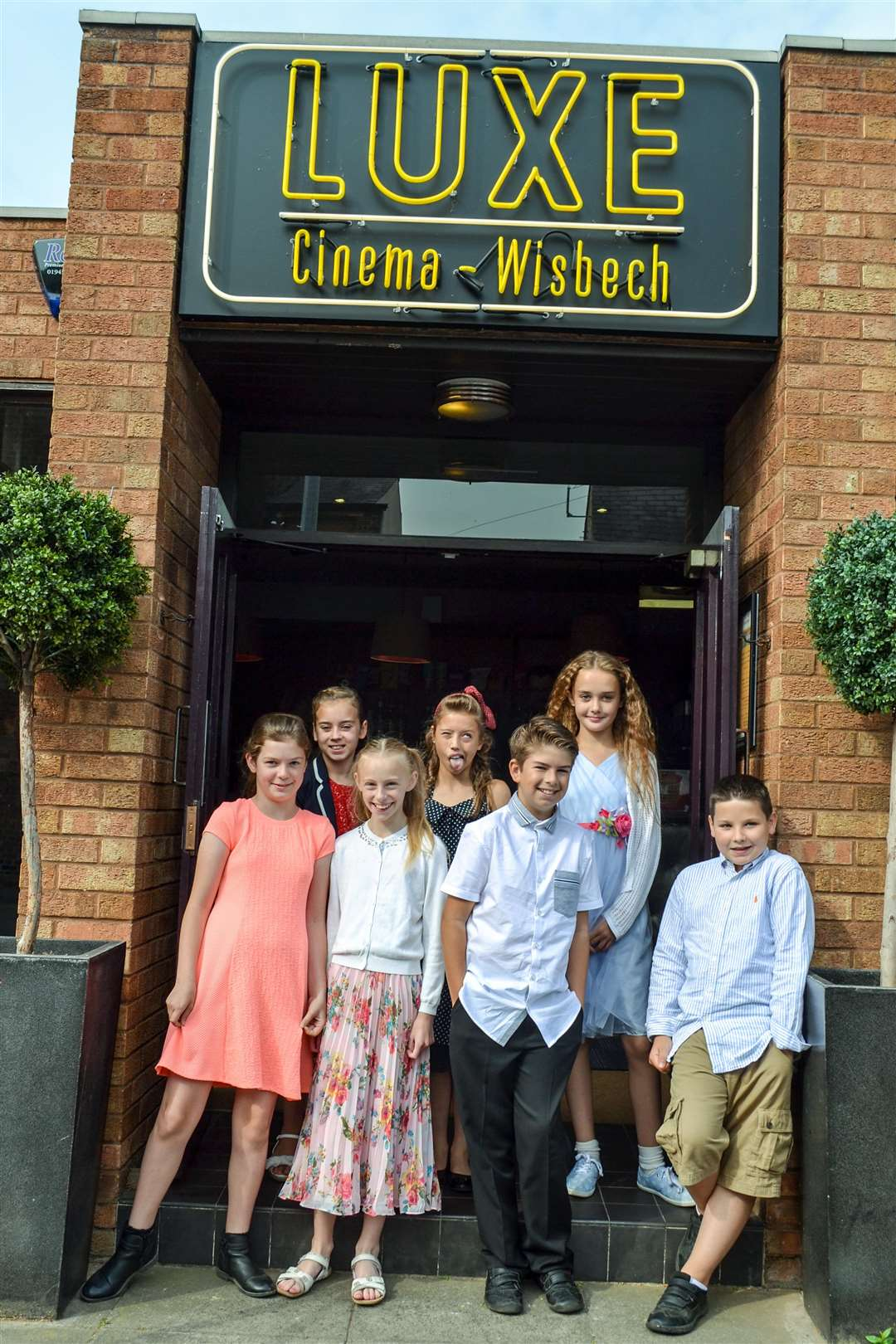 Children from Tydd St Mary school worked with Big Sky Arts to create a short film, which they then watched at a 'red carpet' premiere at the Luxe Cinema in Wisbech. (3297385)