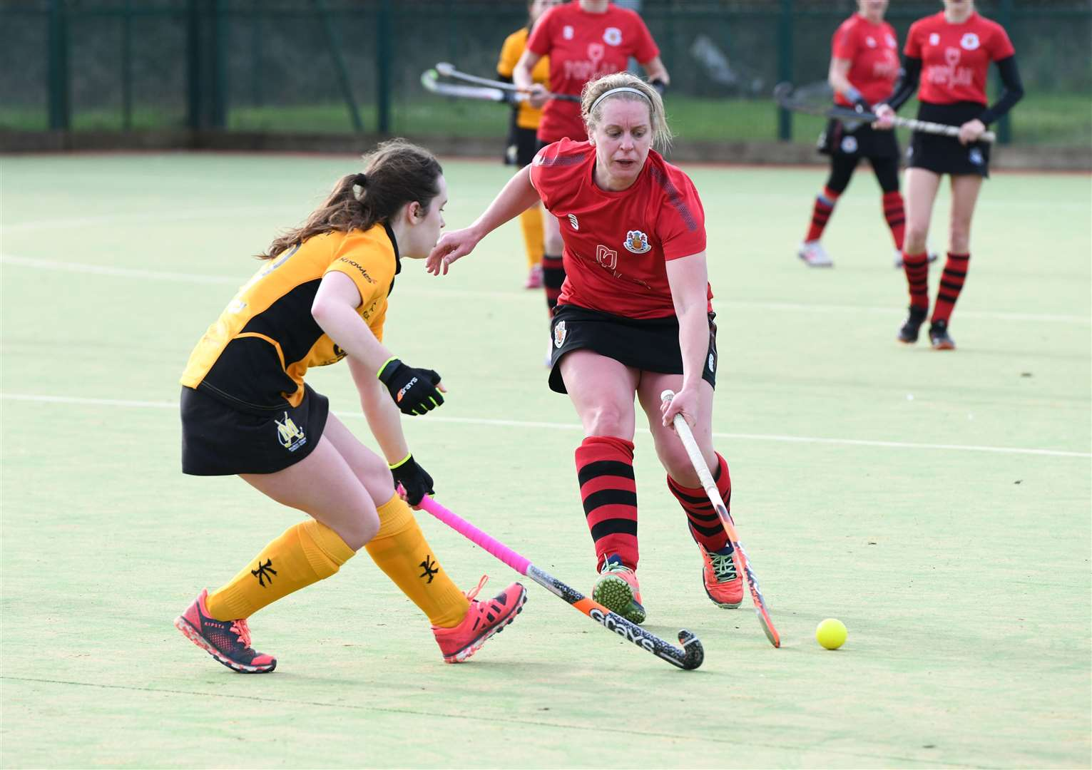 Wisbech Ladies 2nds v March 1st Hockey. (28777769)